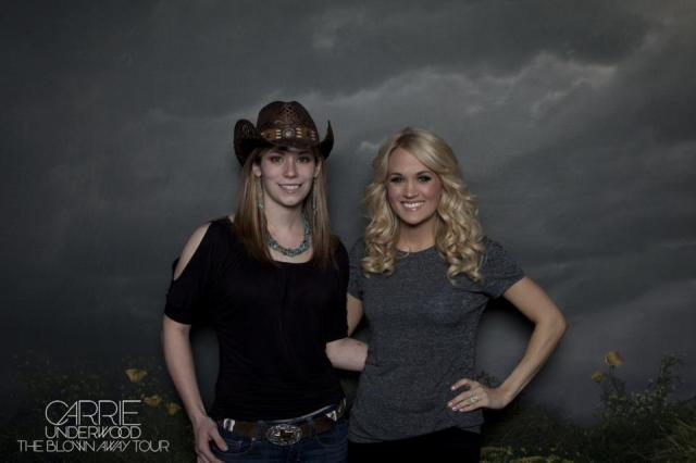 Carrie Underwood and I