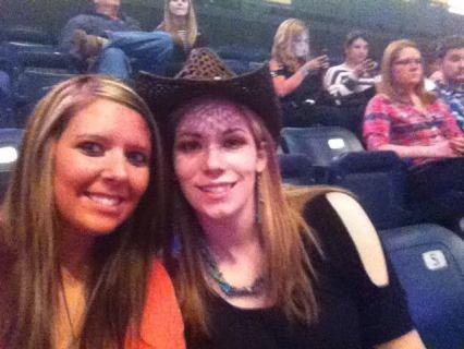Kerri and I at the concert